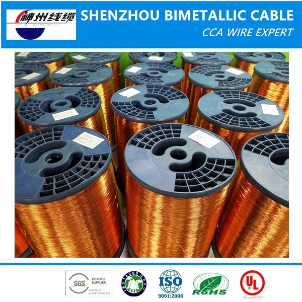 Factory Sales Price ECCA, Enameled Copper Clad Aluminum Wire for Motor Generators