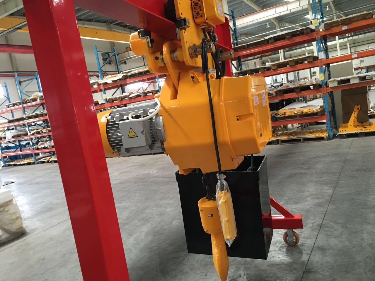 1-20t Single-Girder Overhead Gantry Crane