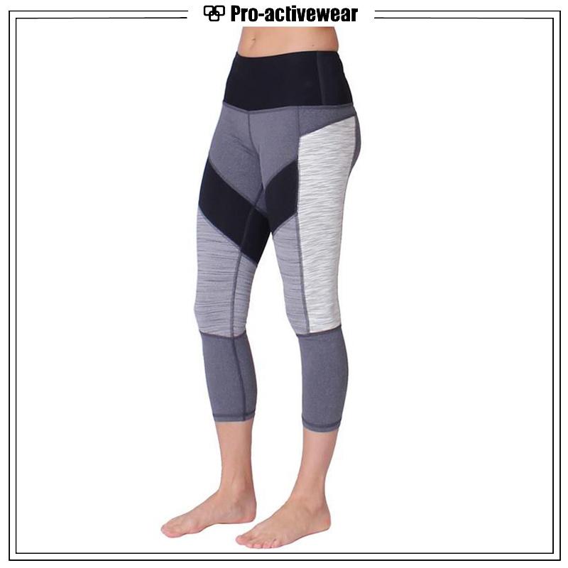 Hot Sale Polyester Lycra Sexy Girls Yoga Leggings