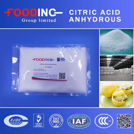 High Quality GMO Free Citric Acid Mono E330 Price Per Kg Supplier