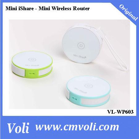 Mini Ishare Mini Wireless Router WiFi Sharing