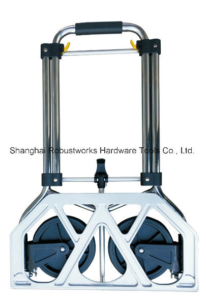 Foldable Chrome-Plated Steel Hand Truck (HT022AC)