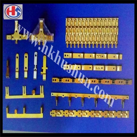 Supply All Kinds of Wire Terminal, Electronic Connector, Electronics & Communication Terminals Electric Plug Terminals (HS-CT-002)