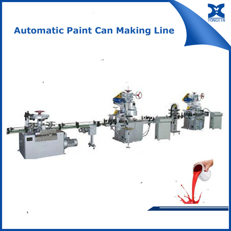 Automatic Metal Paint Can Production Line
