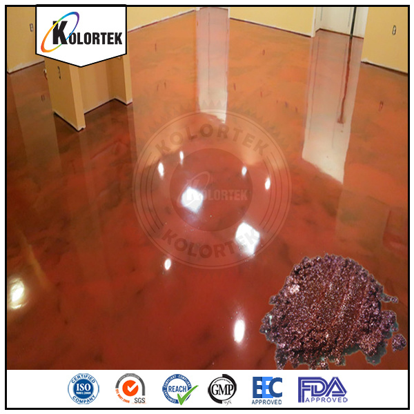 Metallic Pearlescent Concrete Flooring Coating Pigments