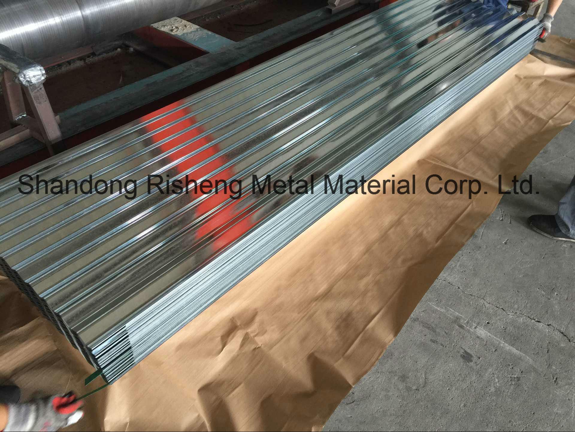Hot DIP Galvanized Steel Roofing Tiles