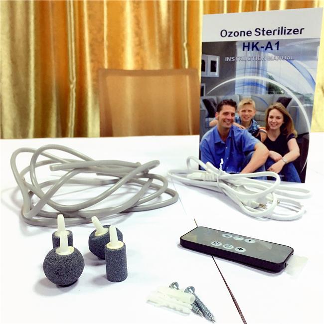 Mini Ozone Sterilizer Ozone Machine Ozonizer with Factory Price HK-A1