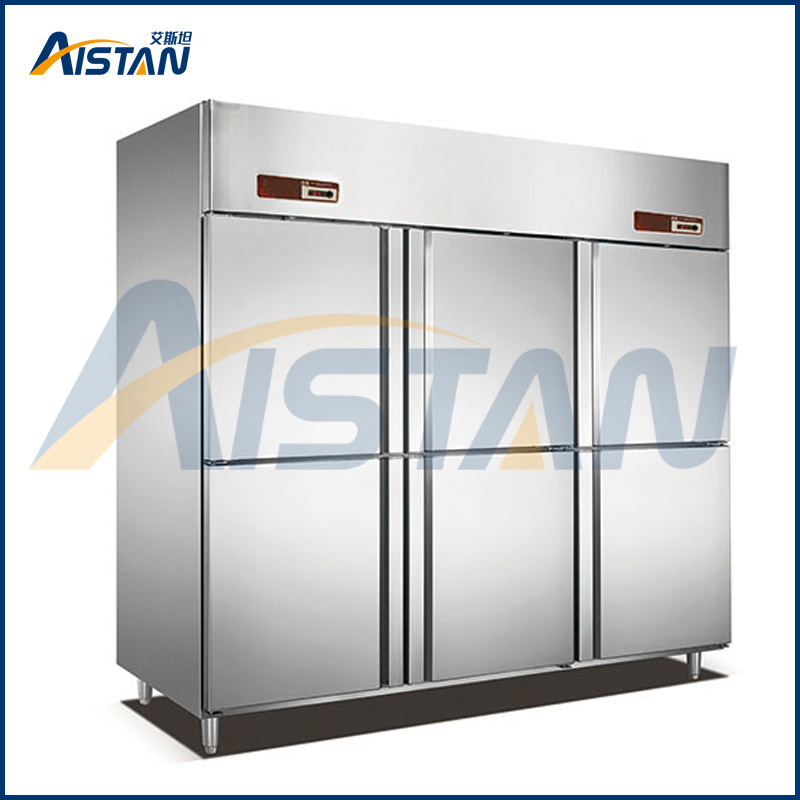 Gd6 6 Door Commercial Kitchen Chiller Refrigerator