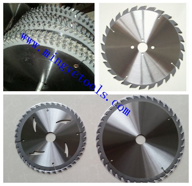Wood Cutting Power Tools Tct Circular Saw Blade Tungsten Carbide Tipped