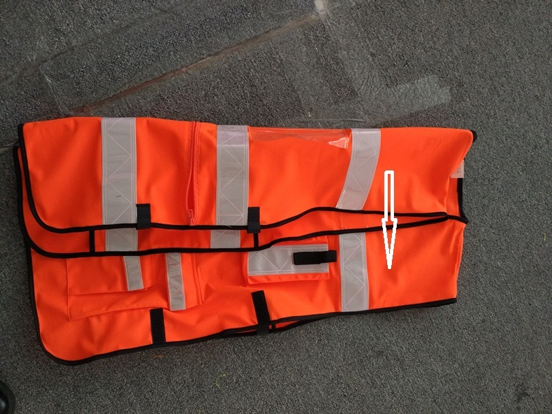 En20471 High Visibility Class 2 Muli-Fuctional Reflective Safety Vest for Emergencey Outworks From Factory