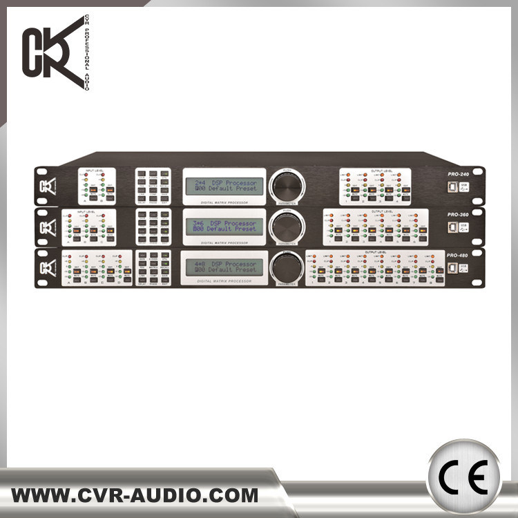 Speaker Processor DSP Digital Line Array Speaker Processor