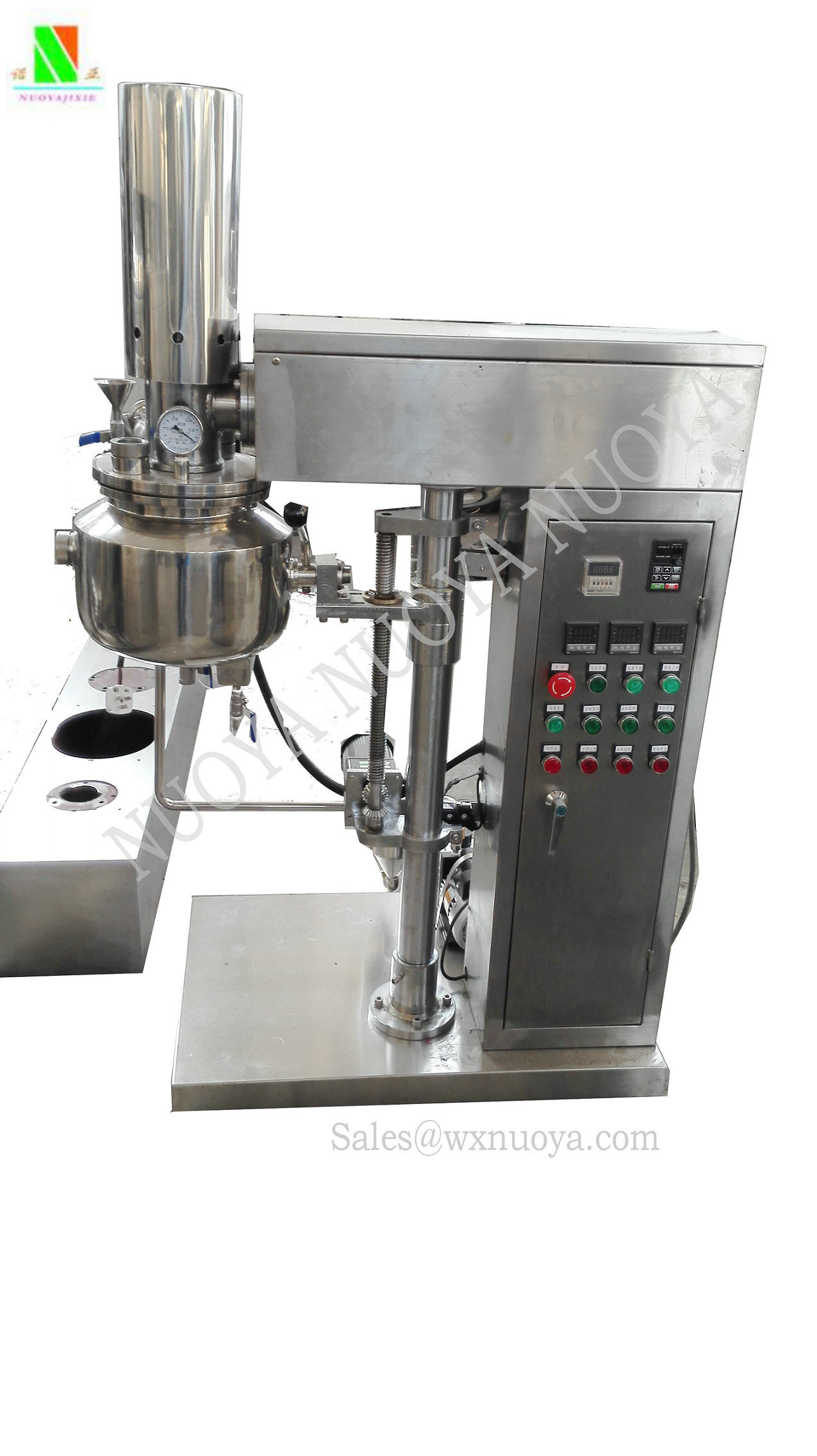 Costmetic Lab Vacuum Emulsifying Machine