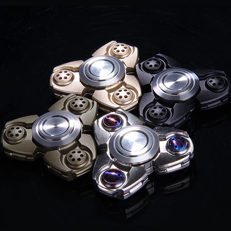 The Spot Fidgets Omega Tri-Spinner Fidget Toy