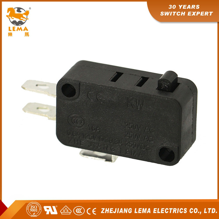 Factory Supply Lema Kw7-0 Plunger Sensitive Micro Switch