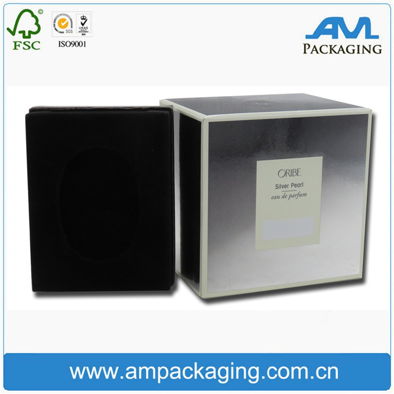 Cosmetic Laminated Perfume Product Incense Box Luxury Gift Packaging