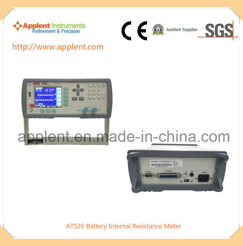 Battery Internal Resistance Tester for Internal Resistance and Voltage (AT526)