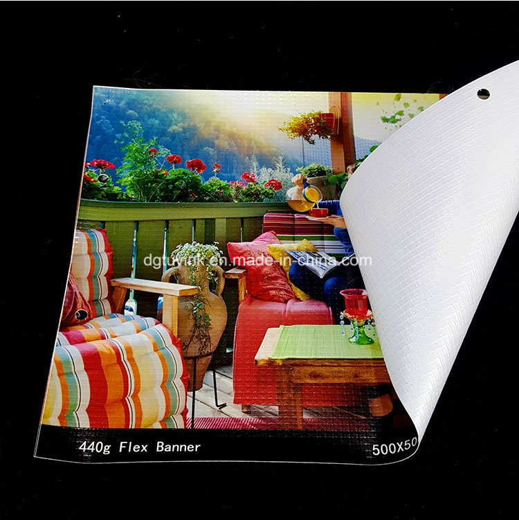 Custom Printing Media Poster Material Outdoor Indoor PVC Flex Vinyl Advertising Banner Display