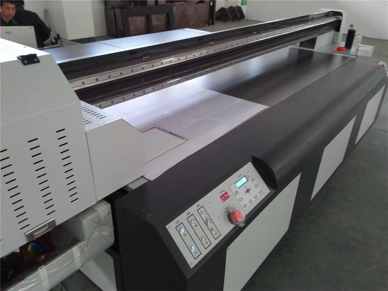 Seiko 3D Wainscoting Panel UV Flatbed Printing Machine