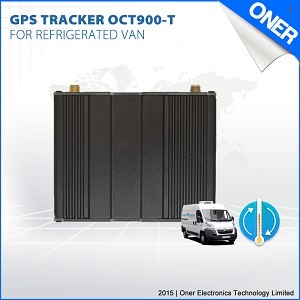 Refrigerator Car GPS Tracker with Temperature Monitoring