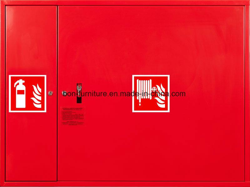 Fire Hose Reel & Extinguisher Cabinet/Metal Two Door Cabinet
