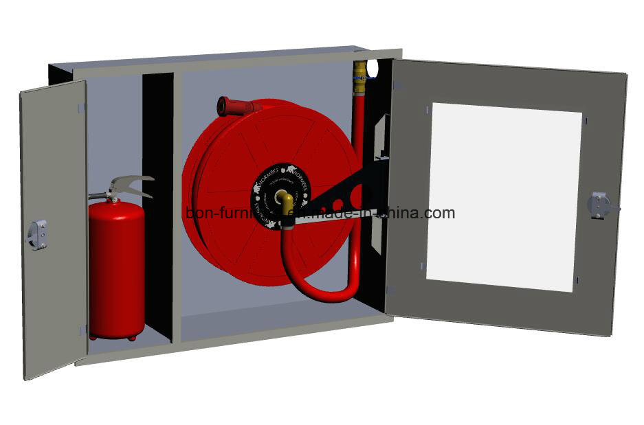 Fire Hose Reel & Extinguisher Cabinet/Metal Two Door Cabinet