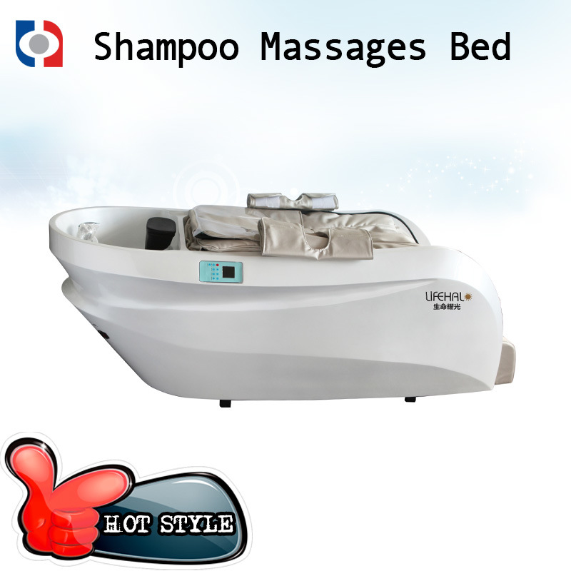 Top Class Hair Salon Massage Shampoo Chair / Hair Washing Massage Bed
