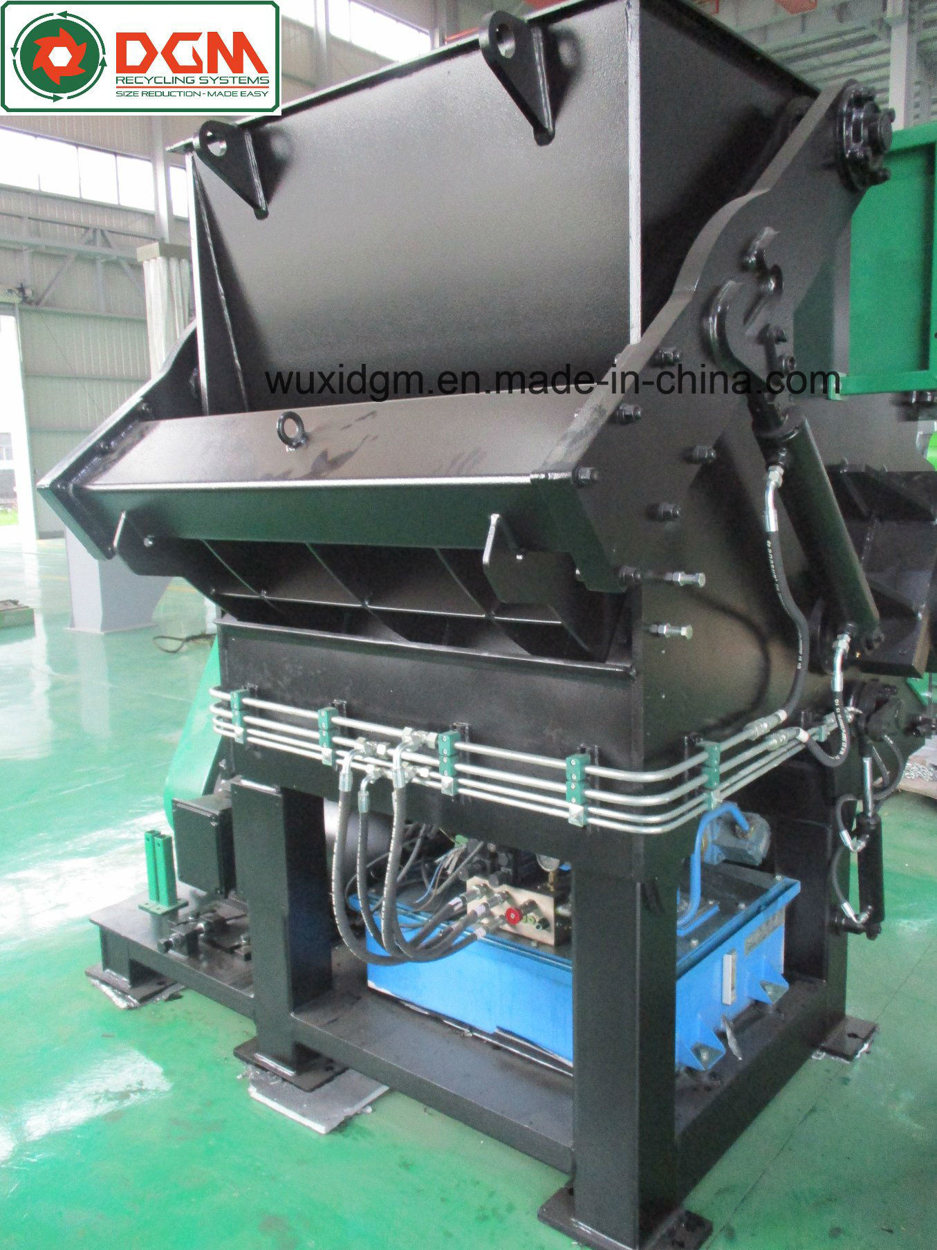 Dgs1200 Universal Single Shaft Shredder