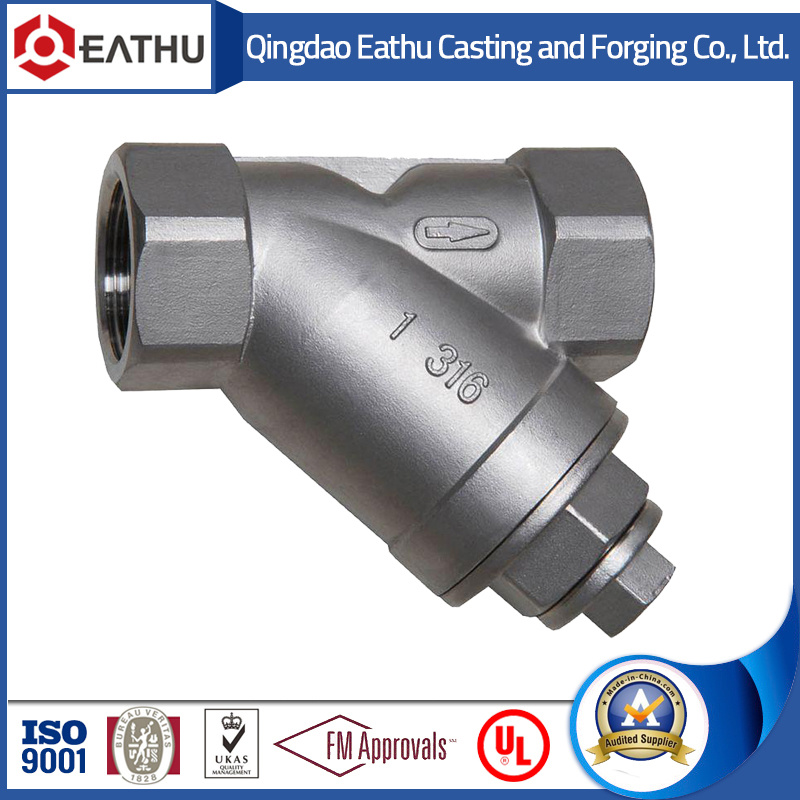 Stainless Steel Threaded Y Strainer