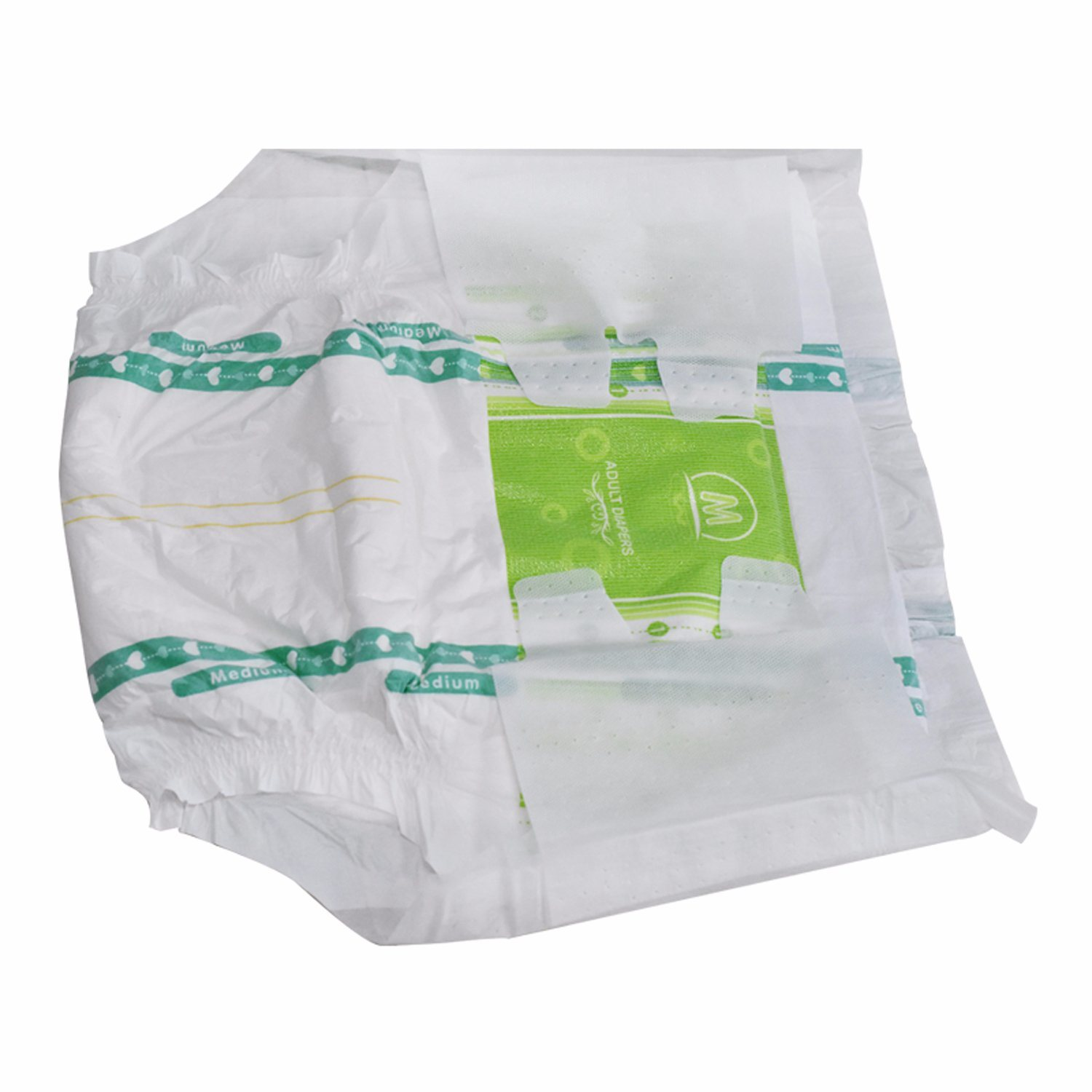 Cloth-Like Back Sheet Disposable Magic Tape Manufacturer Breathable Dry Surface Adult Diaper