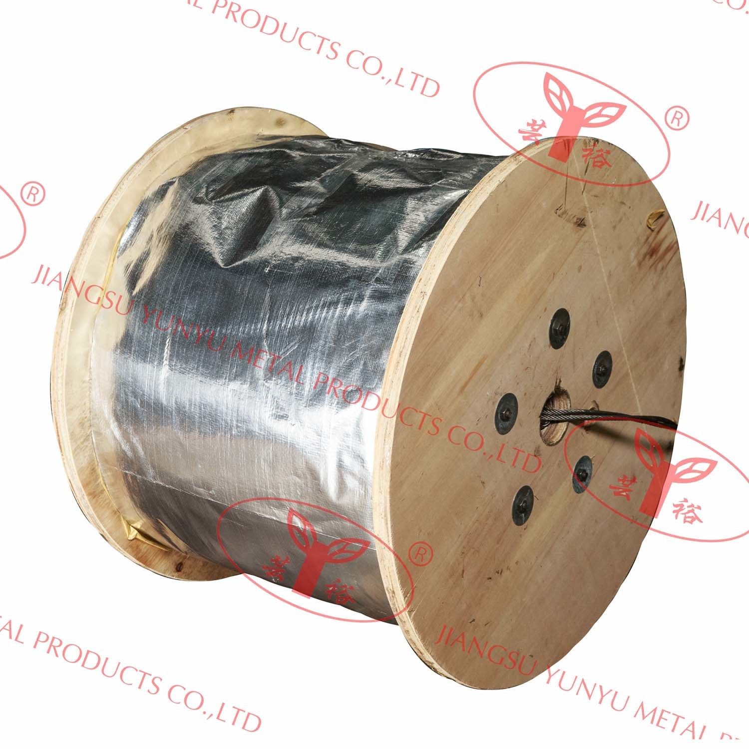High Quality Steel Wire Ropes - 8X19W