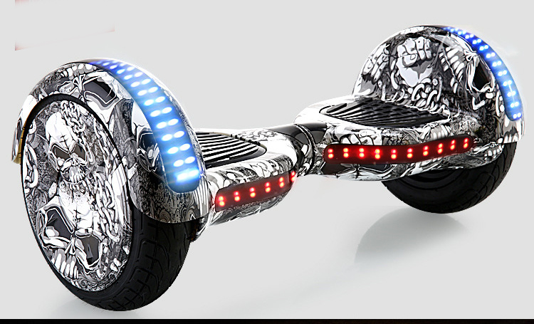 10inch Electric Skateboard with Flashing Light