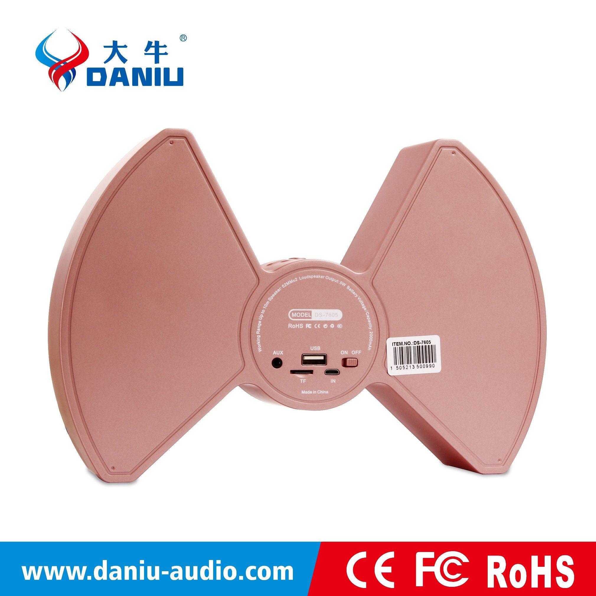 2016 New Hot Selling Multi-Function Bluetooth Speaker with Powerbank+Clock Display+Alarm Clock