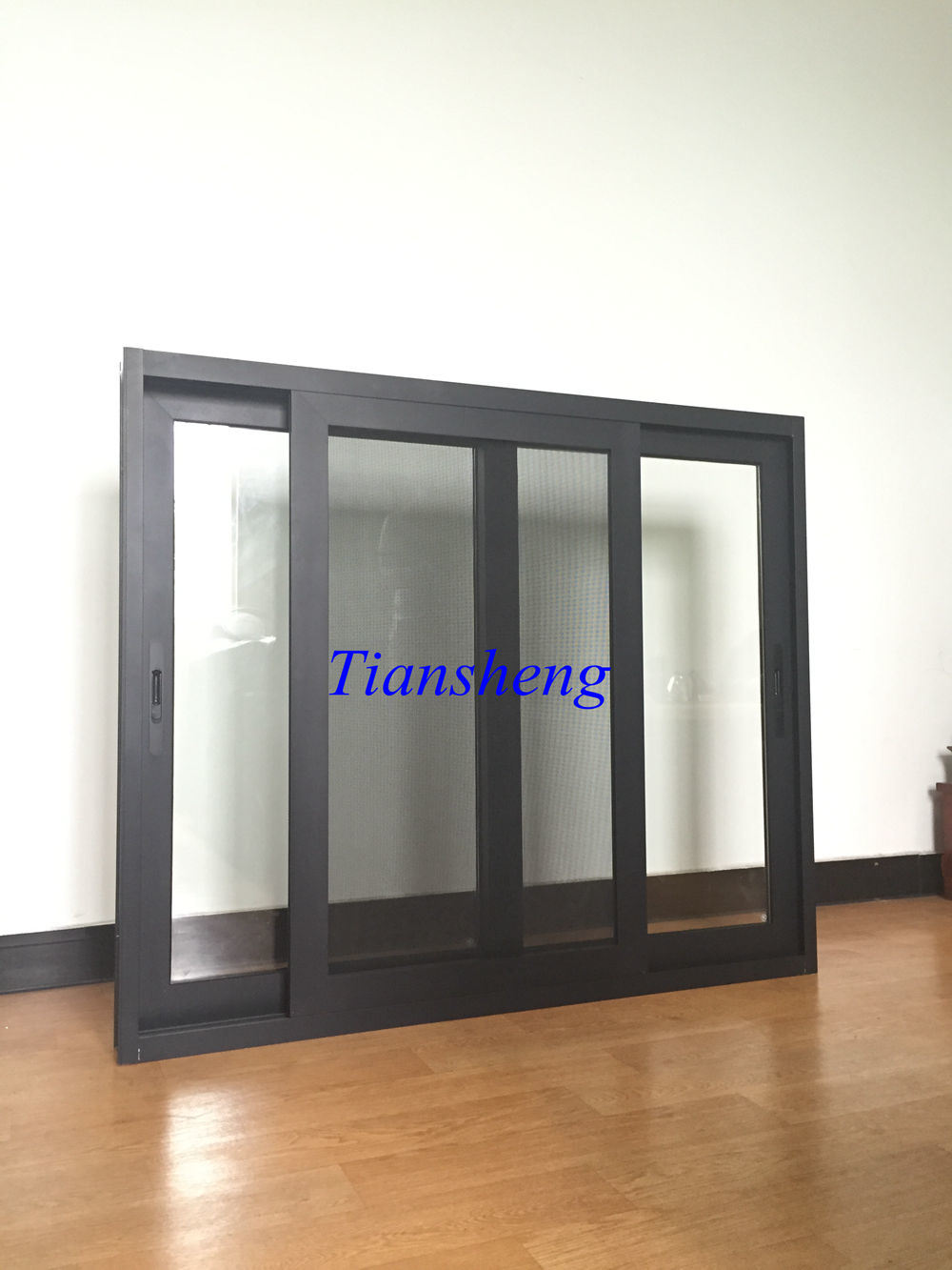 High Quality Hot Selling Aluminum Sliding Window with Crimsafe Flyscreen