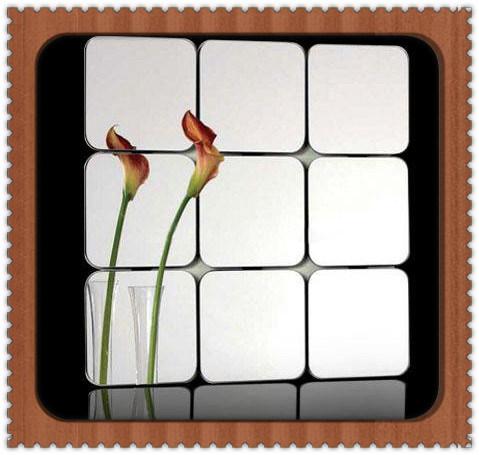 China Modern Designs Bathroom Mirror Tile