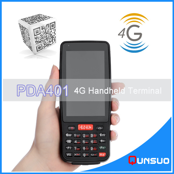 Hf RFID Barcode Scanner Android PDA Handheld /4G/WiFi/Bluetooth/GPS