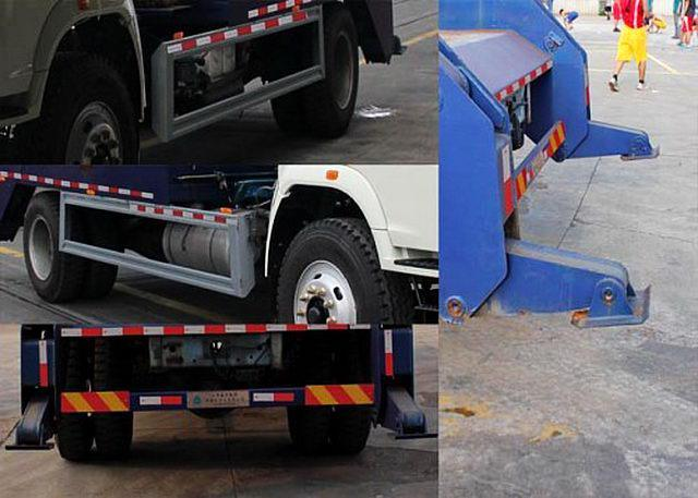 Swept-Body Refuse Collector