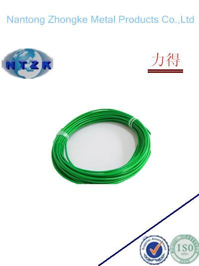 PVC Coated Steel Wire Rope 6*7+FC