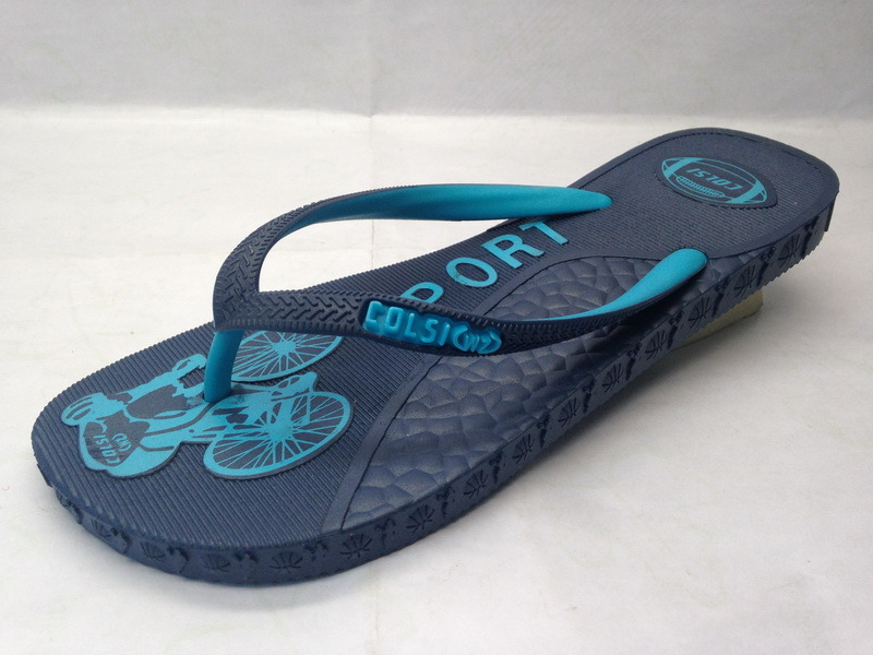 OEM PE/PVC/EVA Slipper Flip Flop for Lady