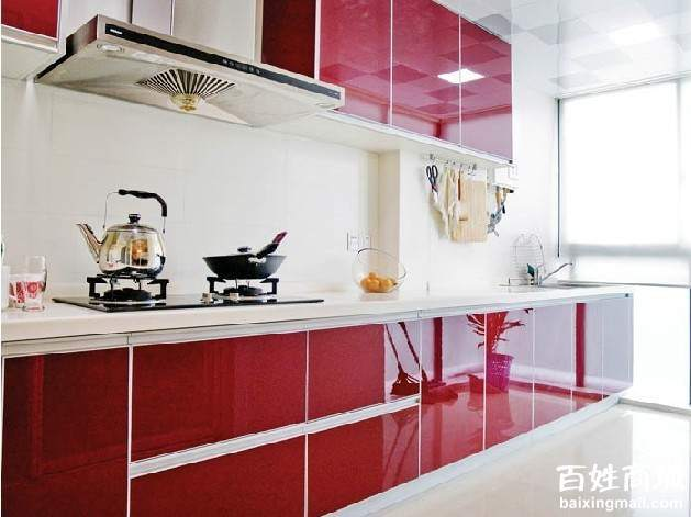 Glossy UV Kitchen Cabinet (ZH Foshan)