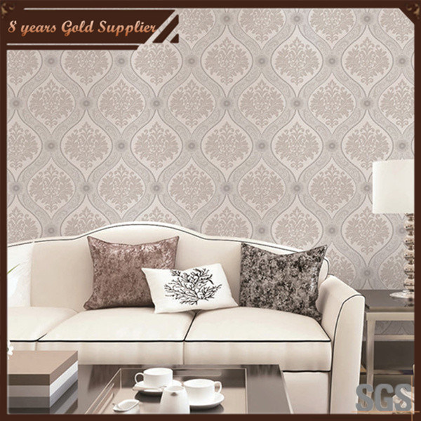 2016 Building Material PVC Wallpaper for Home Decoration