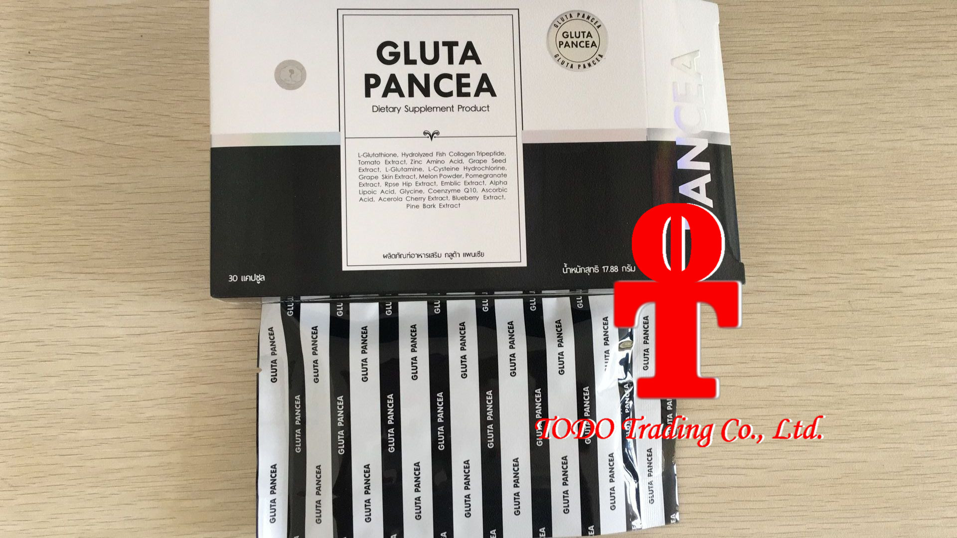 Gluta Panacea Vitamin for Super White Aura Healthy Natural