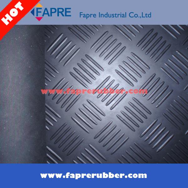 Anti-Slip Checker Pattern/Runner Rubber Mat Roll Flooring