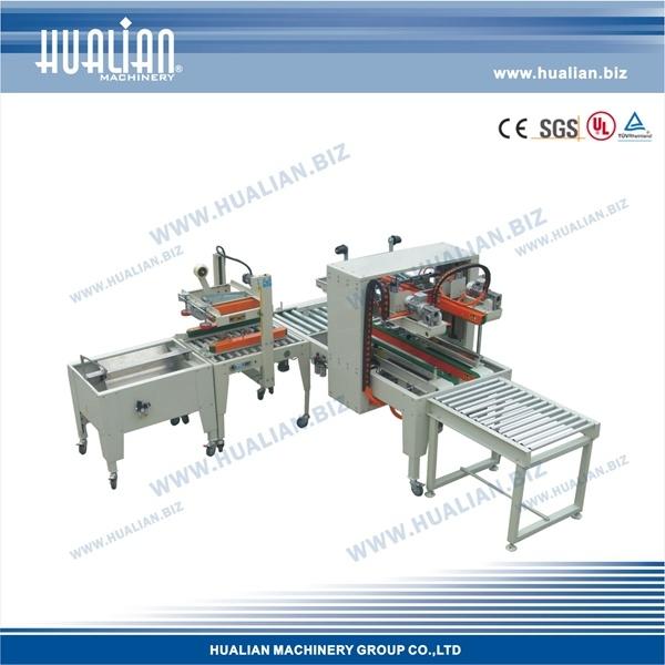 Hualian 2017 Automatic Carton Sealing Packaging Line (XFK-8)