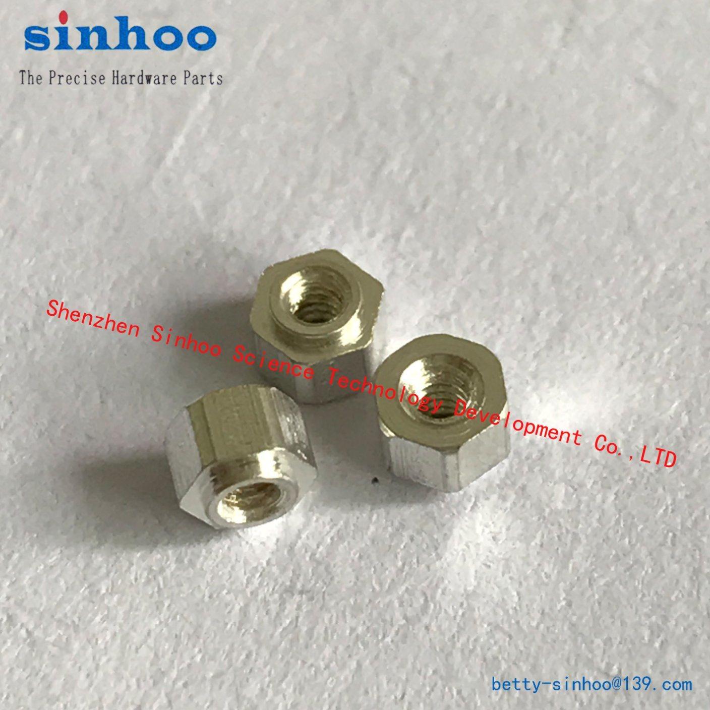 Hex Nut, Pem Nut, SMT Nut, M1.6-2, Standoff, Standard, Stock, Smtso, Tin Nut, SMD, SMT, Steel, Reel