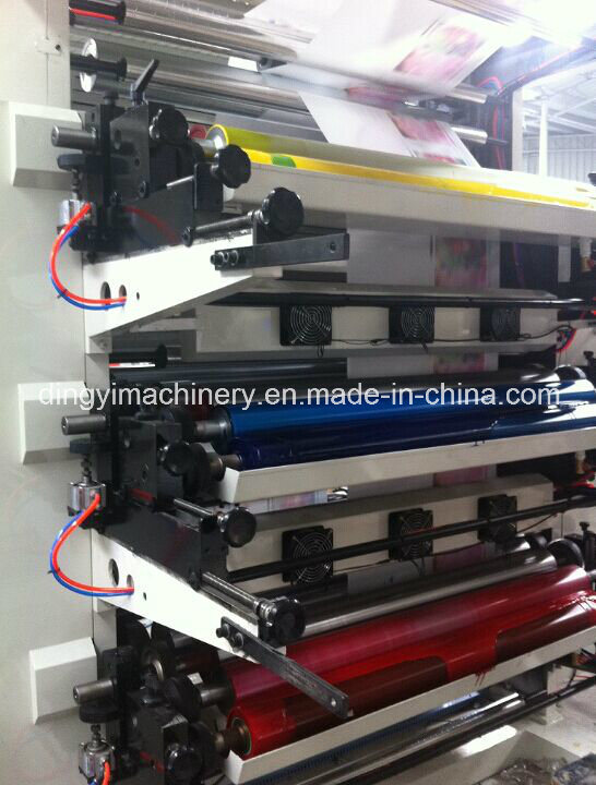 Six Color Flexographic Printing Machine (DY-6800)