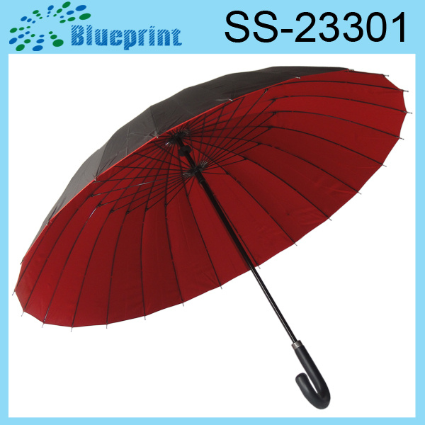 China 24 Ribs Umbrella Different Kinds of Umbrellas (SS ...