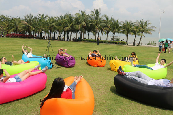 Fast Inflatable Sleep Bag 10 Seconds Quick Open Lazy Sleeping Bed