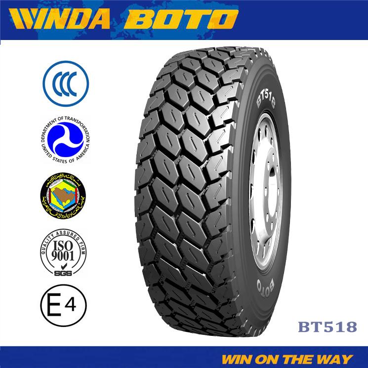 295/80r22.5 Winda Radial TBR Tires Tubeless Truck Trailer Tire