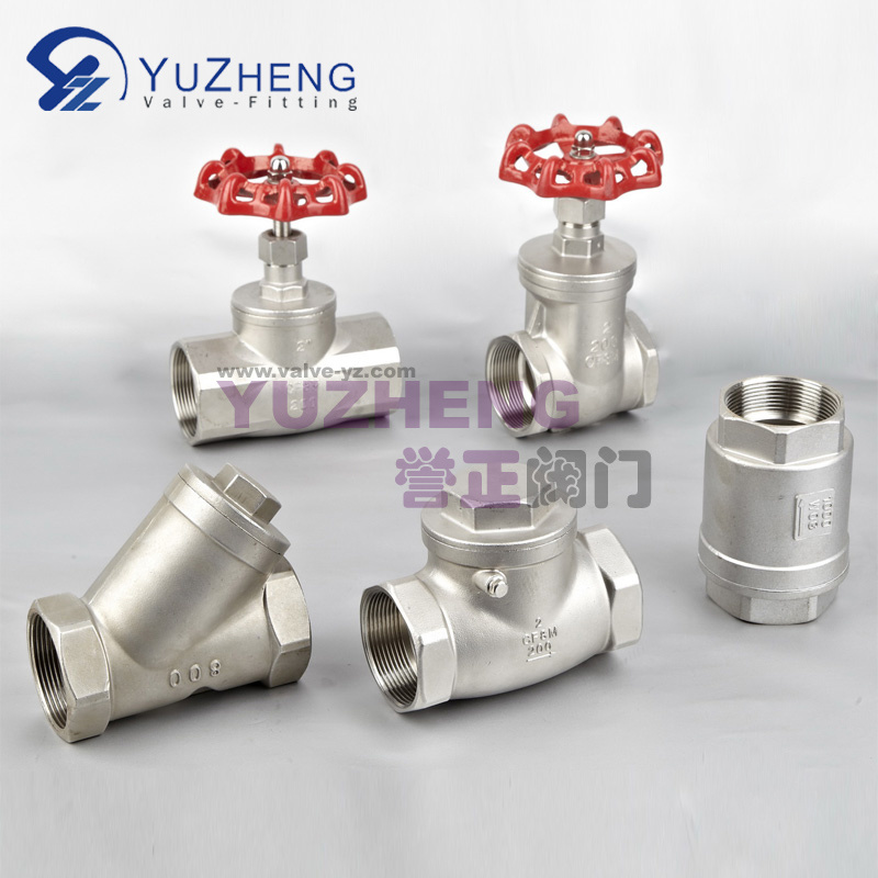 ANSI Stainless Steel Thread Globe Valve Manufacturer
