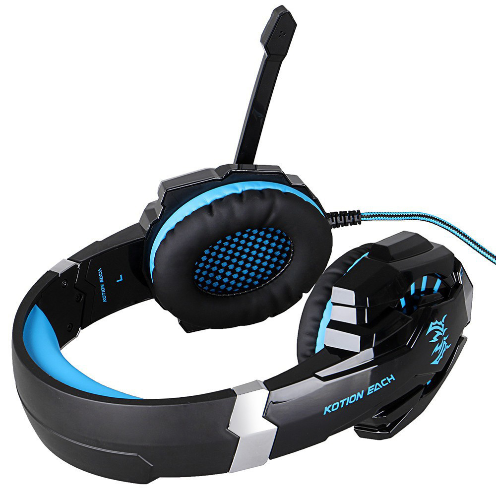 Each G9000 3.5mm&USB Wired Stereo Gaming Headphone with Micr LED for PS4